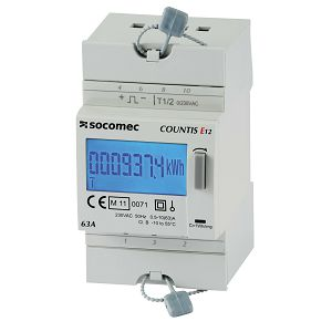 BROJILO E11 1F/2T 63A COUNTIS (3M) Socomec 48503001
