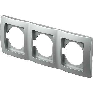 EKONOMIK OKVIR 3 silver vodoravni OE30ES 24405