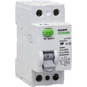 FID Ex9L-N 2P 25A AC 300 mA 6kA 25/2/0,3 108322 Noark