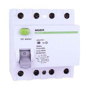 FID Ex9L-N 4P 25A AC 30mA 6kA 25/4/0,03 108331 Noark
