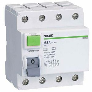 FID Ex9L-N 4P 40A AC 300 mA 6kA /40/4/0,3 108340 Noark
