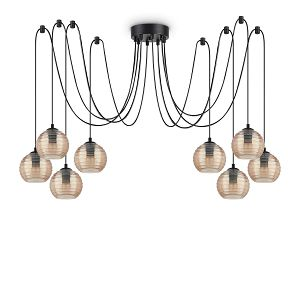 LUSTER 8xE27 Ideal Lux jantar Riga SP8