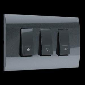 MODYS INDIKATOR antracit (za kutiju 4M 3 sklopke 16A 2P) 12540