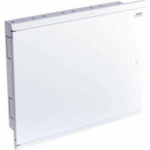 RAZDJELNIK 3-redni 72 (3×24) pž metalna vrata bijela MFF3 72W 109810 Noark