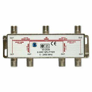 RAZDJELNIK ANT/SAT 1/6 SF 1061 5-2400 MHz Hirschman