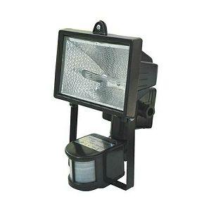 REFLEKTOR HALOGENI 500W SENZOR IP44 crni  HL105