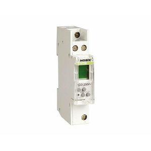 SAT UKLOPNI (tajmer) Ex9TDM 1CO 230V digitalni 1MU 103509 Noark