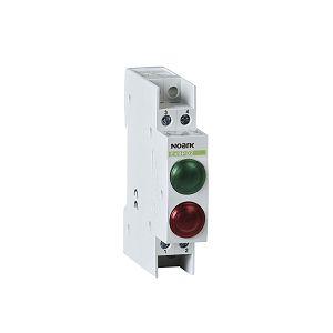 SIGNALNA SVJETILJKA zelena-crvena Ex9PD2gr 230V AC/DC DIN 102463 Noark