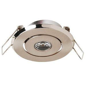 SVJETILJKA HL671L 1*1W LED IP20 6500K ugradna okrugla