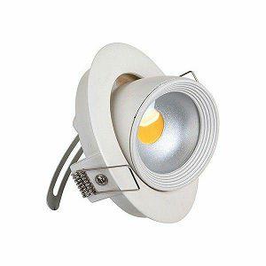 SVJETILJKA HL692L 8W COB LED IP20 6500K ugradna pomična bijela