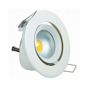 SVJETILJKA HL693L 10W COB LED IP20 6500K ugradna pomična bijela