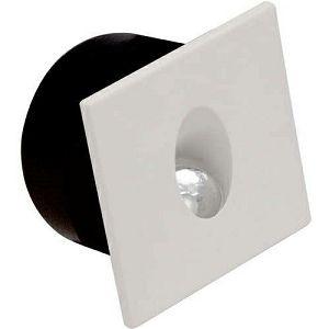 SVJETILJKA UGRADNA ZIDNA 3W SMD LED 4000K kvadratna zidna bijela IP20
