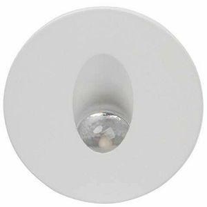 SVJETILJKA UGRADNA ZIDNA 3W SMD LED 4000K okrugla bijela IP20