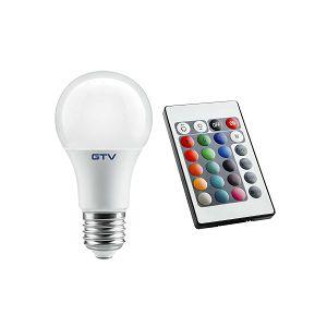 ŽARULJA LED E-27 8W RGB 540lm 220V GTV